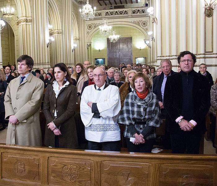 Los Archiduques de Austria acompañan a San Miguel de Aralar en su visita a San Fermín